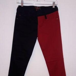 Red & Black Pants